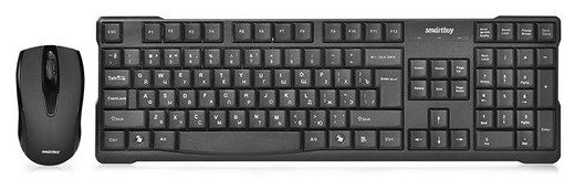 SmartBuy Клавиатура и мышь SmartBuy SBC-114348AG Black USB