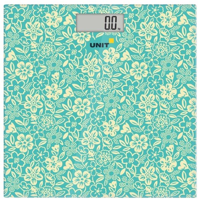 Весы напольные UNIT UBS-2051, зелёный