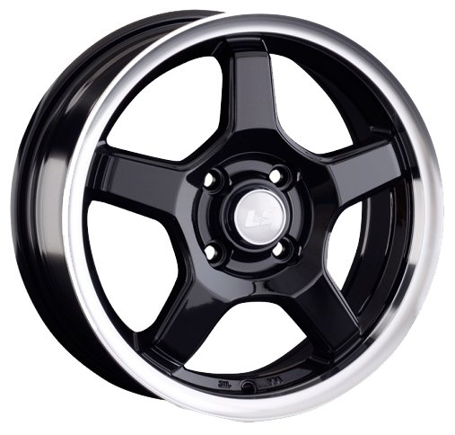 Колесный диск LS Wheels LS816 7.5x17/5x114.3 D73.1 ET45 BKL
