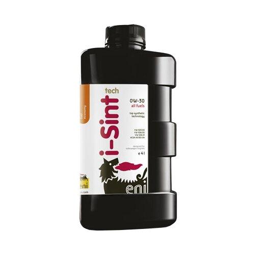Синтетическое моторное масло Eni/Agip i-Sint Tech 0W-30, 4 л