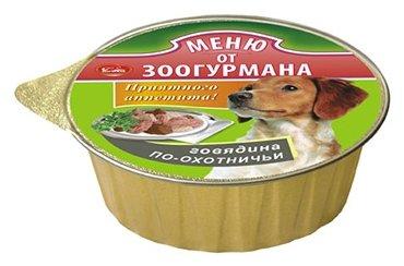 Корм для собак Зоогурман По-охотничьи говядина 125г