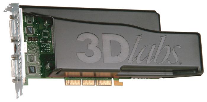 Видеокарта 3Dlabs Wildcat Realizm 200 AGP 512Mb 256 bit 2xDVI TV