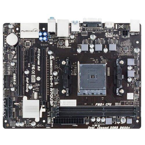 Материнская плата Biostar Hi-Fi A70U3P Ver. 6.x  - купить со скидкой