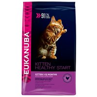 Еукануба (Eukanuba) kitten dry cat food healthe start chicken & liver сухой корм сухой корм для котят с птицей 2 кг