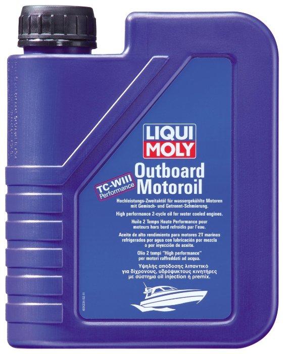 Моторное масло LIQUI MOLY Outboard Motoroil 1 л