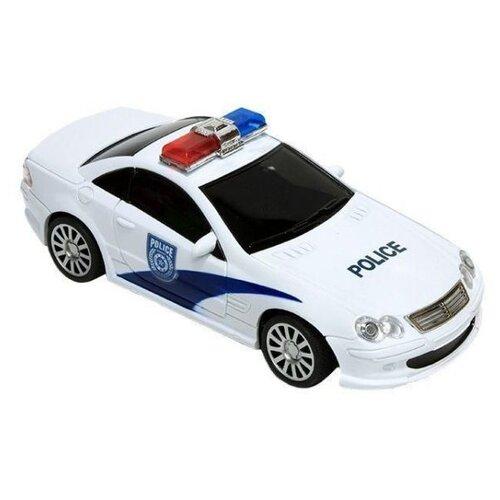 Купить Легковой автомобиль Mioshi Tech City Police (MTE1201-105) 1:20 25 см белый, Радиоуправляемые игрушки