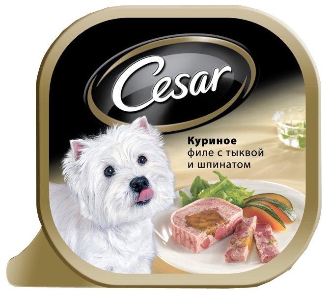 Корм для собак Cesar курица 6шт. х 100г (для мелких пород)