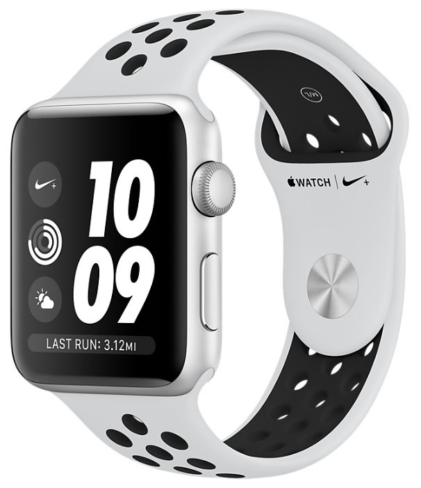 Apple Часы Apple Watch Series 3 38mm Aluminum Case with Nike Sport Band