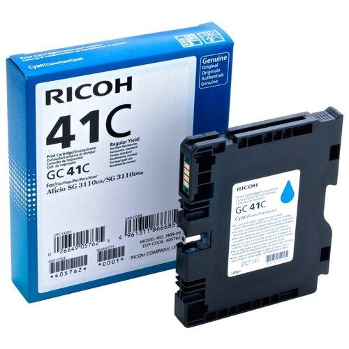 Фото - Картридж Ricoh GC 41C картридж ricoh gc 41kl