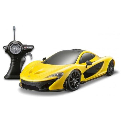 Легковой автомобиль Maisto Mclaren PI (81243) 1:14 31.5 см желтыйРадиоуправляемые игрушки<br>