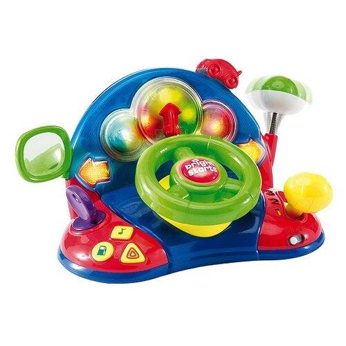 цена на Интерактивная развивающая игрушка Bright Starts Маленький водитель синий/красный/зеленый