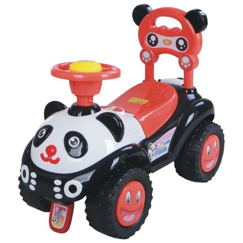 Купить Каталка-толокар Barty Hi Panda (BL7601) со звуковыми эффектами красный, Каталки и качалки