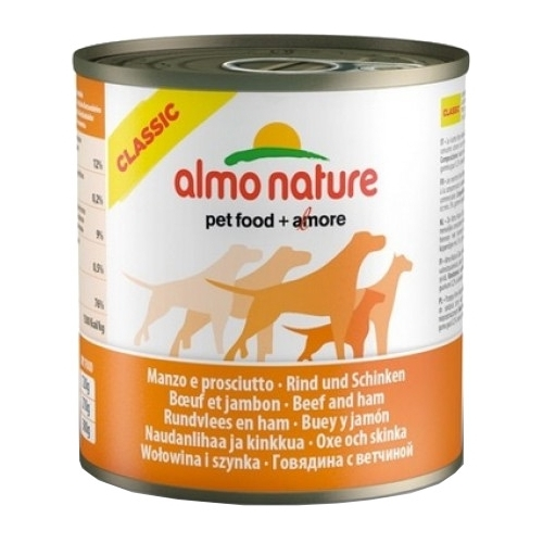 Корм для собак Almo Nature Classic Adult Dog Beef and Ham (0.29 кг) 1 шт.