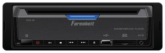 Автомагнитола Farenheit DVD-39