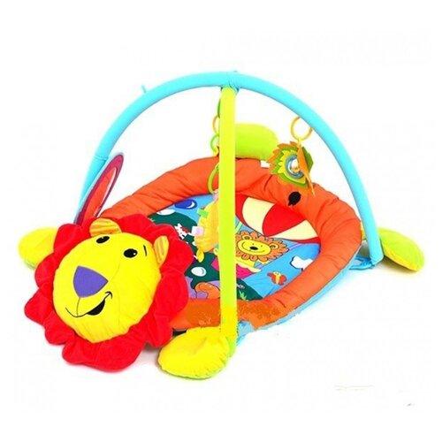 Развивающий коврик Biba Toys Лев (BP668), Развивающие коврики  - купить со скидкой