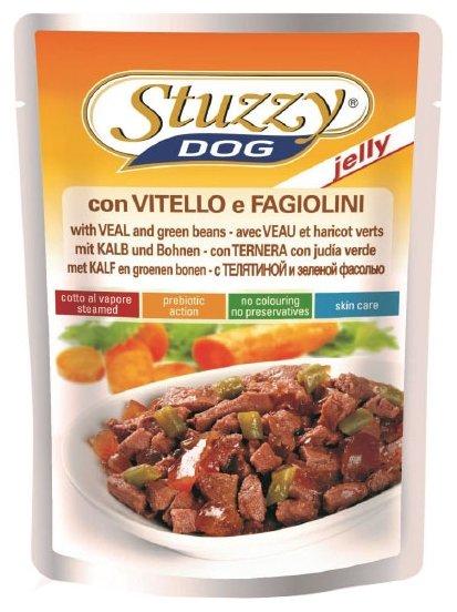 Корм для собак Stuzzy Dog с телятиной и зеленой фасолью (0.1 кг) 1 шт.