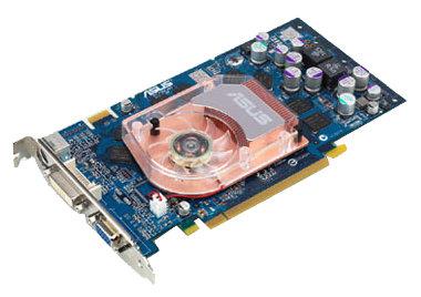 Видеокарта ASUS GeForce 6800 350Mhz PCI-E 256Mb 600Mhz 256 bit DVI TV