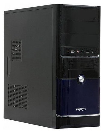 GIGABYTE GZ-F3 w/o PSU Black/blue