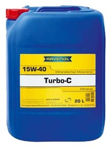 Моторное масло Ravenol Turbo-C HD-C SAE 15W-40 20 л