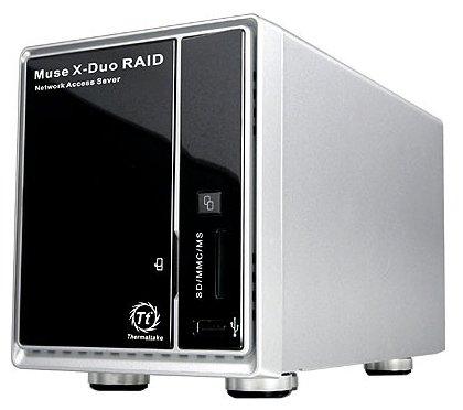 Сетевой накопитель (NAS) Thermaltake Muse X-Duo RAID