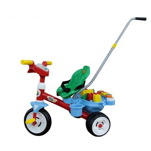 Купить Трехколесный велосипед Coloma Y Pastor Беби Трайк 46796 красный/зеленый/голубой, Трехколесные велосипеды