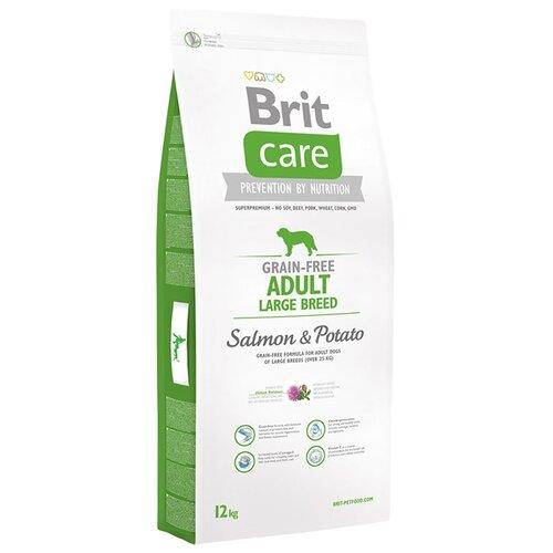 Корм для собак Brit Care Adult Large Breed Salmon & Potato (12 кг)Корма для собак<br>