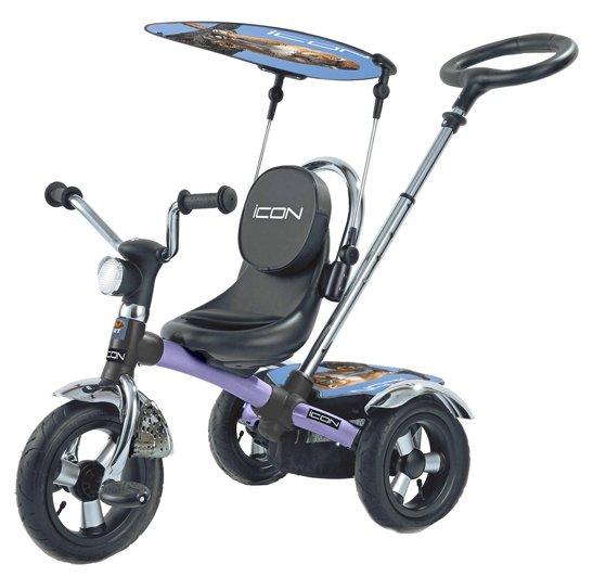 Трехколесный велосипед RT ICON 2 Silver Blue Puma