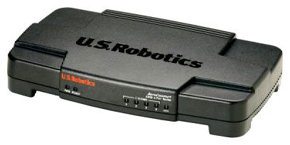 U.S.Robotics SureConnect ADSL Modem and 4-Port Router(9105)