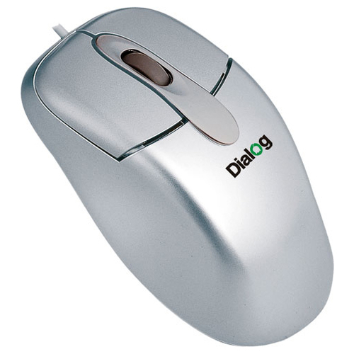 Мышь Dialog MC-O4SP Silver PS/2