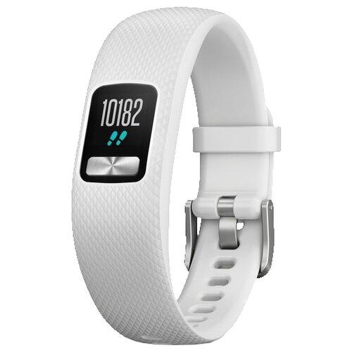 Умный браслет Garmin Vivofit 4 белый стандартный