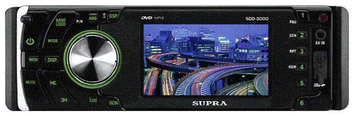 Автомагнитола SUPRA SDD-3000