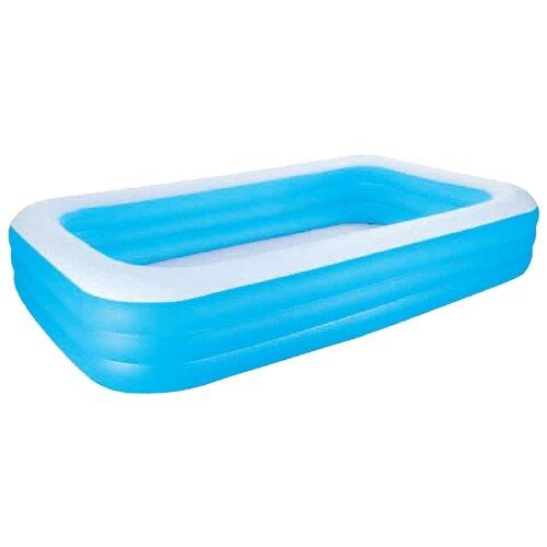 Детский бассейн Bestway Deluxe Blue Rectangular Family 54009