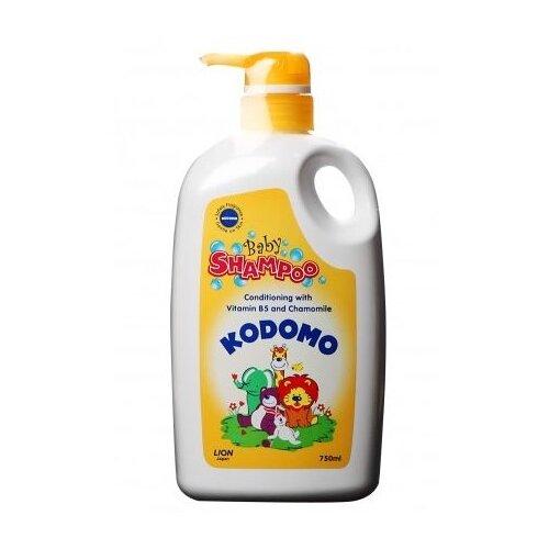 KODOMO Шампунь-кондиционер с витамином B5 и ромашкой 750 мл midzumi kodomo