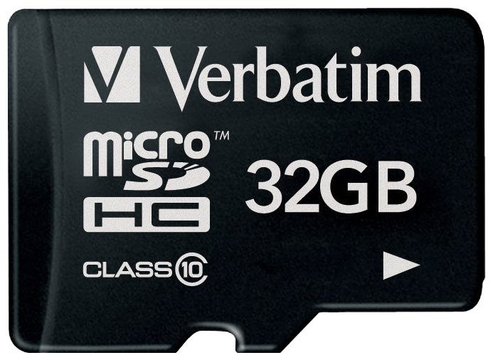 Карта памяти Verbatim microSDHC Class 10