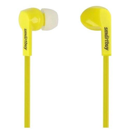 Наушники SmartBuy Prime желтый