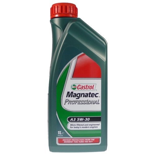 Моторное масло Castrol Magnatec Professional A3 5W-30 1 л cинтетическое моторное масло castrol magnatec 5w40 1 л cas magn 5w40dpf 1l