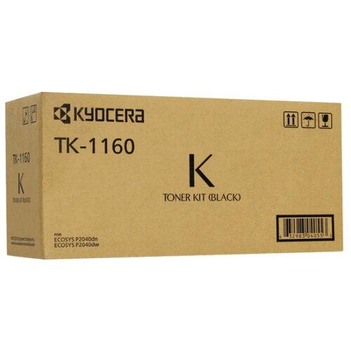 Фото - Картридж KYOCERA TK-1160 картридж kyocera tk 1160 для kyocera p2040dn p2040dw черный 7200стр