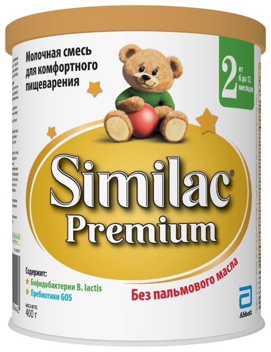 Смесь Similac (Abbott) Premium 2 (от 6 до 12 месяцев) 400 г