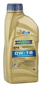 Моторное масло Ravenol Extra Fuel Economy EFE SAE 0W-16 1 л