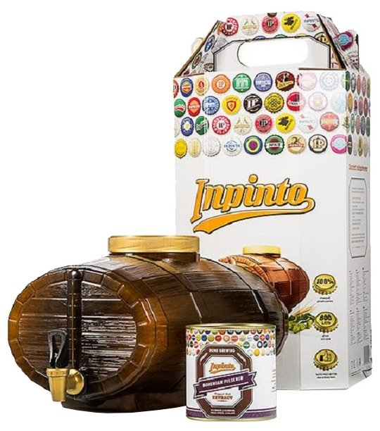 Мини-пивоварня InPinto Deluxe kit