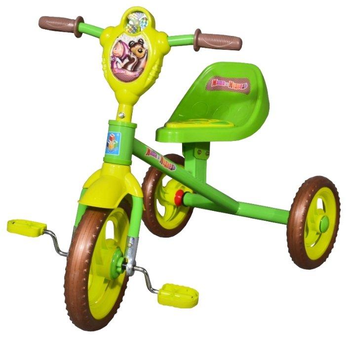 Трехколесный велосипед 1 TOY Т59541 Маша и Медведь