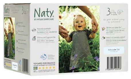 Naty подгузники 3 (4-9 кг)