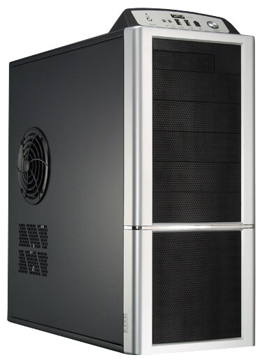 Компьютерный корпус Compucase 6XG3 550W Black/silver
