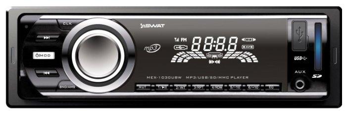 Автомагнитола SWAT MEX-1030UBW
