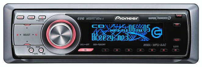 Pioneer DEH-P5850MP