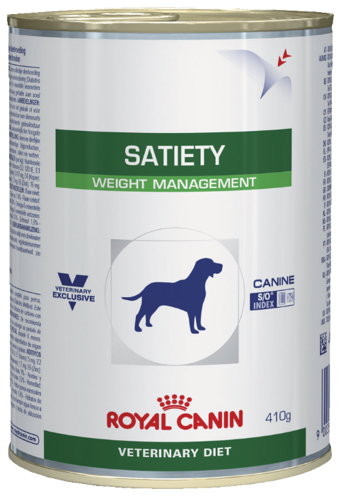 Корм для собак Royal Canin Satiety Weight Management сanine canned