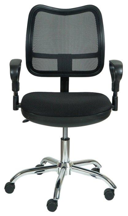 Кресло офисное серое Бюрократ CH-799SL/DG/TW-12