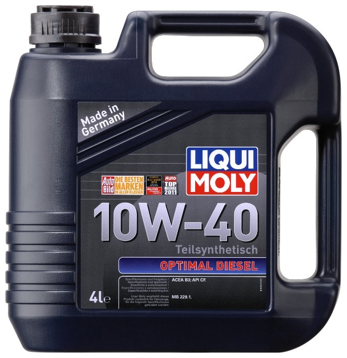 Моторное масло LIQUI MOLY Optimal Diesel 10W-40 4 л