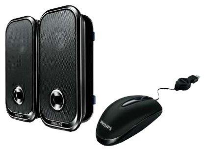 Мышь Philips SCO3220 Black USB