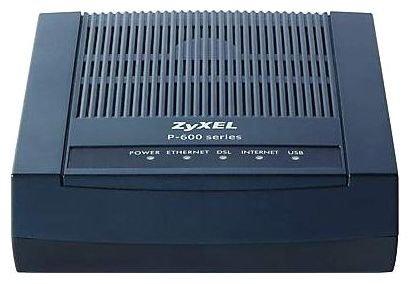 Модем ZYXEL P660RU3 EE